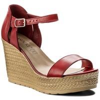 Sandały Lasocki 0654-02 Czerwony