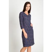 Quiosque Sukienka z bordowym wzorem 4GH005906