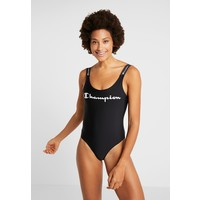Champion BIG SCRIPT LOGO SWIMMING SUIT WOMENS Kostium kąpielowy new black C7641K00R