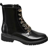 czarne płaskie botki damskie Graceland 11111144