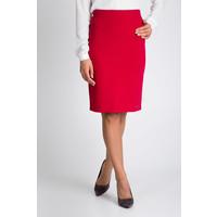 Quiosque Czerwona ołówkowa plisowana spódnica 7EA006541