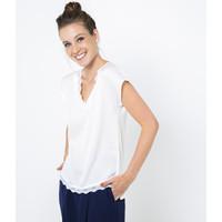Camaieu T-shirt z akcentami koronkowymi 529727_0480E19/0480/TITUNICE NEW