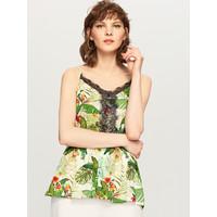 Reserved Top w tropikalne kwiaty UG461-01X