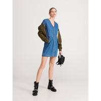 Reserved Jeansowa sukienka YE790-50J