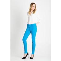 Quiosque Turkusowe elastyczne spodnie 3FJ001803