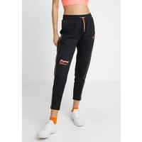 Puma EVIDE PANTS Spodnie treningowe black/orange PU121A04O