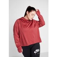 Nike Performance GLAM MID PLUS Koszulka sportowa cedar/metallic gold N1241D109