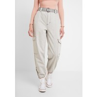 Topshop JUDO Jeansy Relaxed Fit grey TP721N0CQ