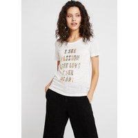 Mos Mosh KACY GLAM TEE T-shirt z nadrukiem gold MX921D00W