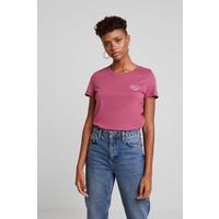 Vero Moda VMCOMO FRANCIS T-shirt z nadrukiem hawthorn rose VE121D19X