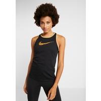 Nike Performance DRY TANK GLAM DUNK Koszulka sportowa black/metallic gold N1241D0ZX