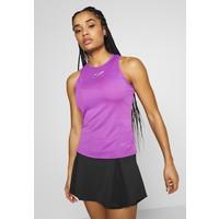 Nike Performance TANK Koszulka sportowa purple/off noir N1241D127