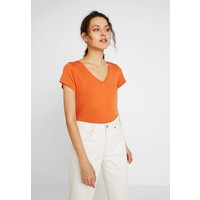 Kaffe ANNA V NECK T-shirt basic burnt orange KA321D03Z
