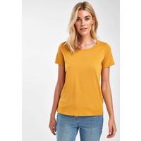 Next T-shirt basic yellow NX321D05E