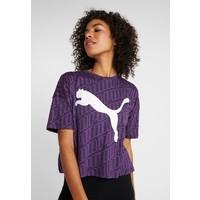 Puma MODERN SPORT FASHION TEE T-shirt z nadrukiem plum purple PU141D0CZ