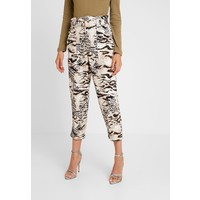 River Island Spodnie materiałowe brown RI921A05S