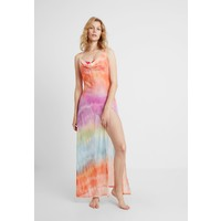 Jaded London COWL NECK MAXI BEACH DRESS TIE DIE Akcesoria plażowe orange JL081H00I