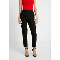 Dorothy Perkins Tall GOLD BUTTON TROUSER Spodnie materiałowe black DOA21A01V