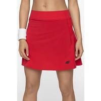 4F Spódniczka do tenisa SPUT400 - czerwony P4L19-SPUT400-62S