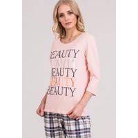Monnari Góra od piżamy z napisem 'Natural Beauty' 20W-PYJ0173-KM04