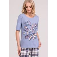 Monnari Góra od piżamy z kwiatowym motywem 20W-PYJ0114-KM12