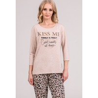 Monnari Góra od piżamy z napisem 'Kiss me' 20W-PYJ0172-KM15