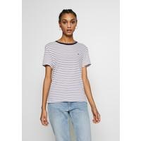 Tommy Jeans ESSENTIAL STRIPE TEE T-shirt z nadrukiem classic white / multi TOB21D05K