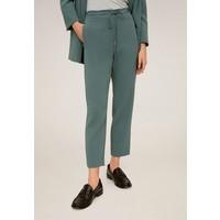 Mango SEMIFLU Spodnie materiałowe grün M9121A1V9