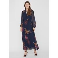Vero Moda Długa sukienka navy blazer VE121C226