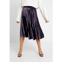 Missguided Tall PLEATED TIE BELT MIDI SKIRT Spódnica trapezowa purple MIG21B01N