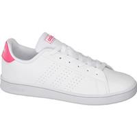 białe sneakersy młodzieżowe adidas Advantage 18052008
