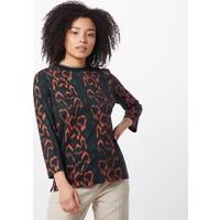 Calvin Klein Koszulka 'PRT 3/4 SLEEVE RIB NECK TOP' CAK0800001000003