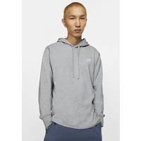 Nike Sportswear Bluza z kapturem dark grey heather/white NI122S0EM