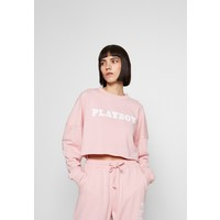 Missguided PLAYBOY LONG SLEEVE LOUNGE Bluza pink M0Q21J03F