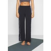 Curare Yogawear PANTS WIDE GALON STRIPE Spodnie treningowe midnight blue CY541E01O