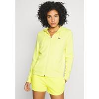 Lacoste Sport WOMEN TENNIS Bluza rozpinana lemon/lemon LA241G006