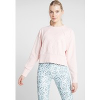 Nike Performance DRY GET FIT LUX Bluza echo pink/white N1241G056