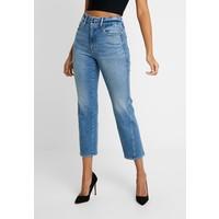 Good American GOOD TWISTED SEAM Jeansy Straight Leg blue GOM21N005