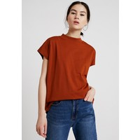 Weekday PRIME T-shirt basic dark orange WEB21D006
