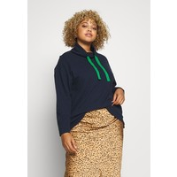 MY TRUE ME TOM TAILOR STRUCTURED Bluza real navy blue TOL21J007