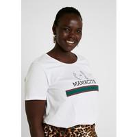 Zizzi HANNA T-shirt z nadrukiem bright white Z1721D07G