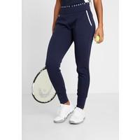 Lacoste Sport TENNIS PANT Spodnie treningowe navy blue/white L0641E00M