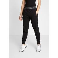 Puma LOGO PANT Spodnie treningowe black PU141E0G9