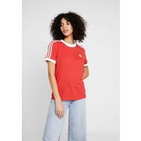 adidas Originals STRIPES TEE T-shirt z nadrukiem lush red/white AD121D0LI