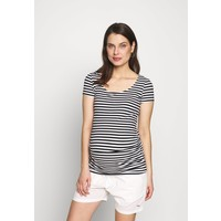 Anna Field MAMA T-shirt z nadrukiem black/white EX429G021