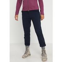 Jack Wolfskin DESERT ROLL UP PANTS Długie spodnie trekkingowe midnight blue JA441E00Z