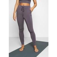 Curare Yogawear LONG PANTS Spodnie treningowe greyberry CY541E01L