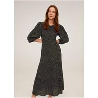 Mango BOMBAY Sukienka letnia schwarz M9121C42S