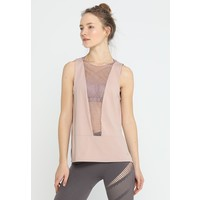 Under Armour MISTY SIGNATURE EMBROIDERY TANK Top bashful pink/tonal UN241D08J