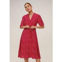 Mango GRECO-H Sukienka koszulowa red M9121C404